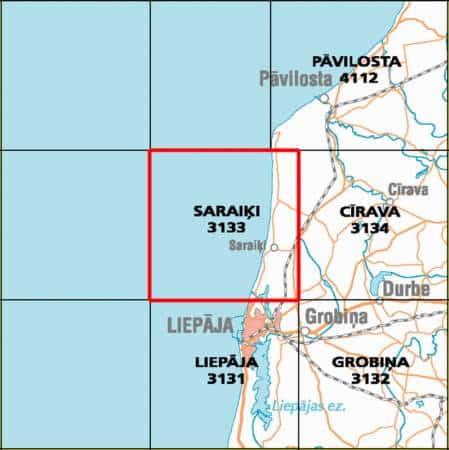 Продаётся земля в Сарайки, в Лиепайском районе. ID: 031