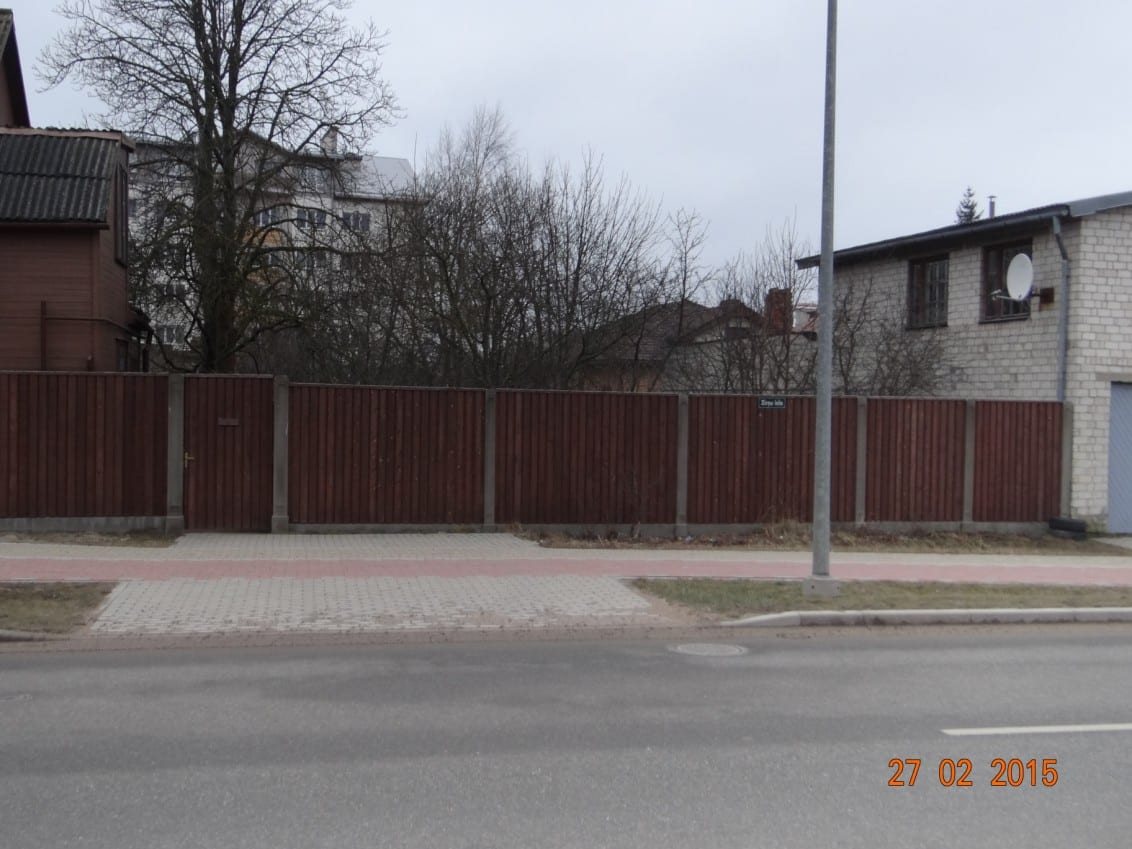 Pārdod 671m2 zemi Zirņu ielā, Liepājā. ID:136