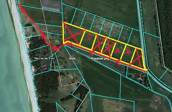 Продаётся земля для застройки в Ниде, Руцавская волость. ID:288