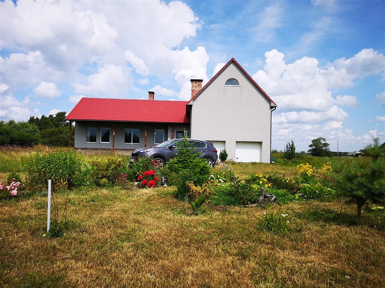 Pārdod divstāvu māju ar zemi Saraiķos, Vērgales pag. ID:289