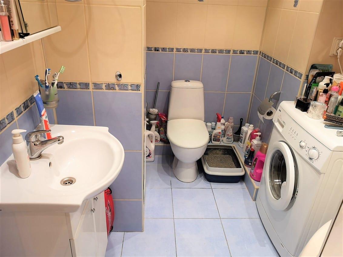 (Latviešu) Pārdod izremontētu, daļēji mēbelētu 3-istabu dzīvokli Ezerkrastā. ID: 301