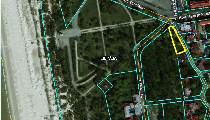 (Latviešu) Pārdod zemi privātapbūvei 1352 m2 Piejūras parka rajonā. ID:315
