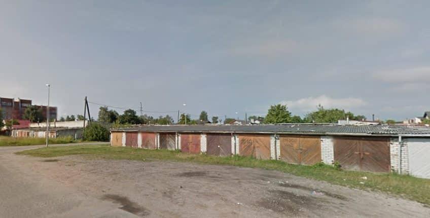 (Latviešu) Pārdod ķieģeļu garāžu Rudbāržu ielā 8, Liepājā. ID:322